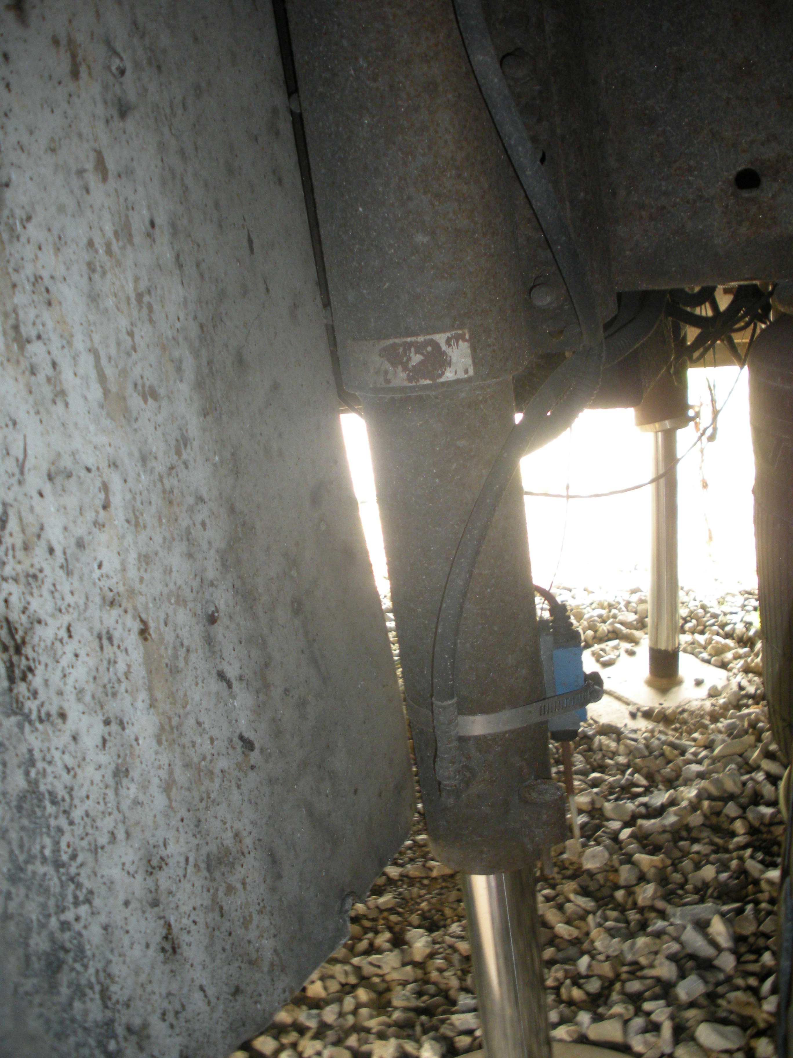 Limit switches on Quadra/Bigfoot Hydraulic Levelling Systems