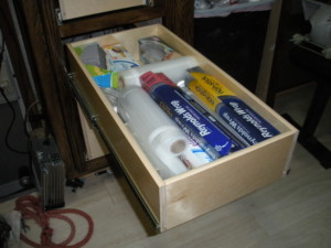 A BHK Fast-Track Drawer
