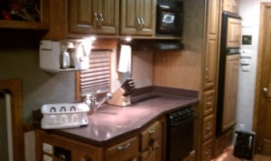 Kitchen before remodeling started
